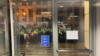 DC Capitol Police Barricade Trump Supporters Inside a DC Hilton Hotel
