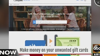 What do you do with gift card you won't use? - Video