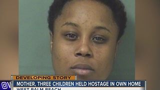 Mother, three children held hostage in own home - Video
