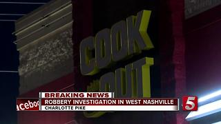 2 Sought In Cook Out Restaurant Robbery - Video