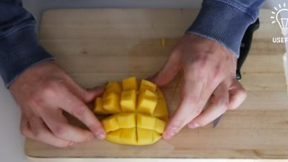How to easily cut and peel a mango - Video