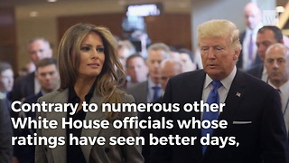 Melania's Approval Ratings Have Changed A Lot Since Inauguration Day - Video