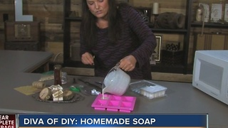 Diva of DIY: homemade soap - Video