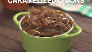 Slow cooker caramelized onions - Video