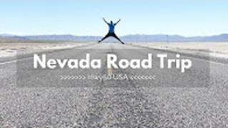 Nevada road trip in 4K - Part 1 - Video