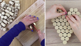 Learn these 3 genial uses for wine corks - Video