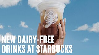 Starbucks Canada Dropped New Dairy-Free Summer Drinks & They're Available Right Now