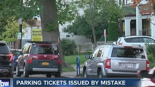 Parking tickets issued in Buffalo by mistake. - Video