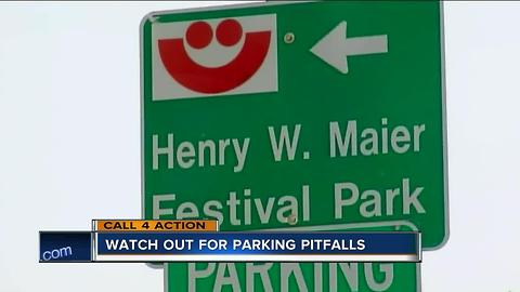 Watch out for parking pitfalls