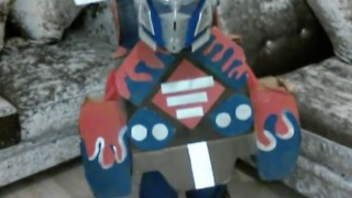 Dad Makes Amazing Handmade Optimus Prime Costume for his Son - Video