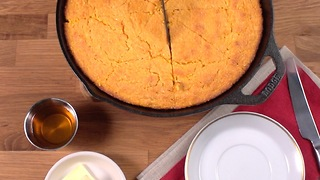 Sweet Potato Cornbread - Video