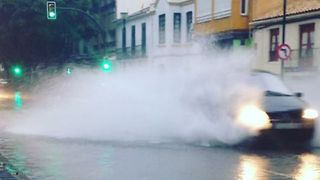 Heavy Flooding Caused By Torrential Rainfall in Malaga - Video