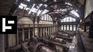 The Abandoned Richmond Power Plant in Philadelphia - Video