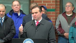 City, police leaders announce plan for new District 5 police headquarters - Video