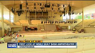 Chautauqua set to open new $45 million amphitheater - Video
