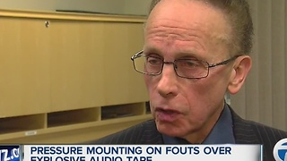 Pressure mounts on Fouts over audio tape - Video