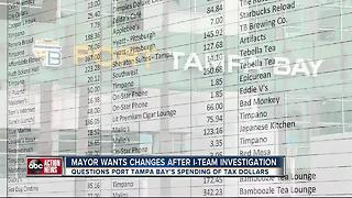 Mayor demands policy changes to Port Tampa Bay's credit card spending after I-Team Investigation - Video