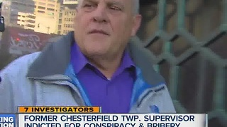 Former Chesterfield Township supervisor indicted for conspiracy and bribery - Video