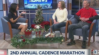 Cadence marathon happening New Years Eve - Video