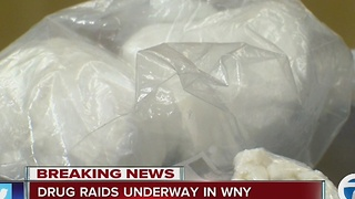 Drug raids underway in Buffalo - Video