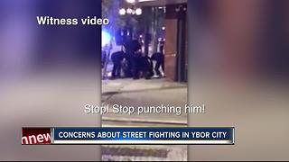 VIDEO: Violent takedown by TPD in Ybor - Video