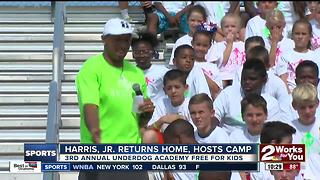 Chris Harris, Jr. returns home to Bixby, hosts 3rd annual Underdog Academy - Video