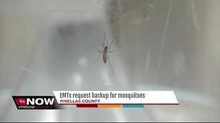 EMTs request backup for mosquitoes - Video