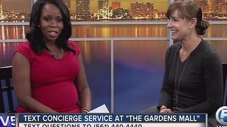 Text concierge service offered at The Gardens Mall - Video