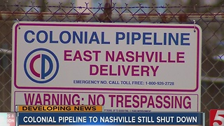 Colonial Pipeline To Nashville Remains Shutdown - Video