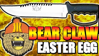 Black Ops 3: Bear Claw Knife Easter Egg? - Video