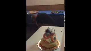 Woman Smashes Face Into Birthday Cake, Stabs Eye Instead - Video