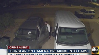 Family fed up after multiple Phoenix home, car break-ins - Video
