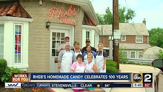 Rheb's Homemade Candy celebrates 100 years - Video