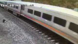 CCTV Captures Train Shortly Before Crashing Into Hoboken Station - Video