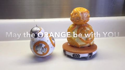 How to create your own BB-8 out of an orange