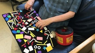 Velcro Fine-Motor Task  for Individuals with  Developmental  Disabilities  - Video