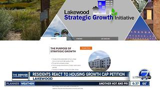 Lakewood residents react to petition to cap housing growth - Video