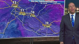 The cold temperatures will continue. - Video