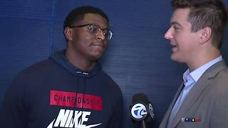 Michigan's Mike McCray excited to go home and play against Ohio State - Video