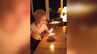 Never Ending Birthday Candle - Video