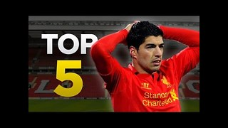 Luis Suarez's Top 5 Crazy Moments - Video