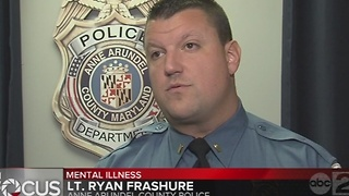 Mental health crisis continues to impact Baltimore-area police - Video