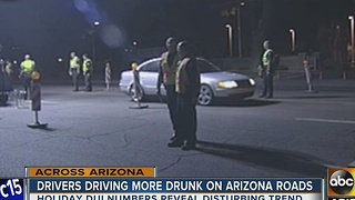 Holiday DUI numbers went down, but prosecutors not celebrating that - Video