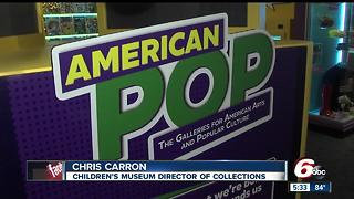 New pop culture exhibits opens at Children's museum - Video