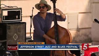 Jefferson Street Jazz & Blues Festival Continues - Video