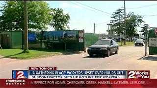 'A Gathering Place' workers upset over cut hours - Video