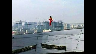 Chinese Tightrope Walker - Video
