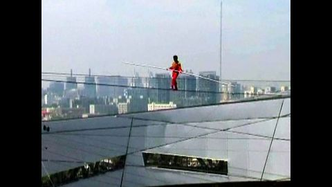 Chinese Tightrope Walker