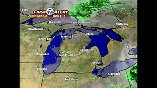 Rain showers return this afternoon - Video