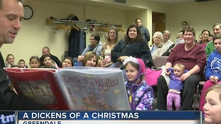 Vince Vitrano reads to kids at Greendale Public Library - Video